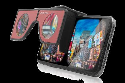 포켓 VR기기 NABI 휴대용 VR 가성비좋은 스마트폰용 VR뷰어, VR안경